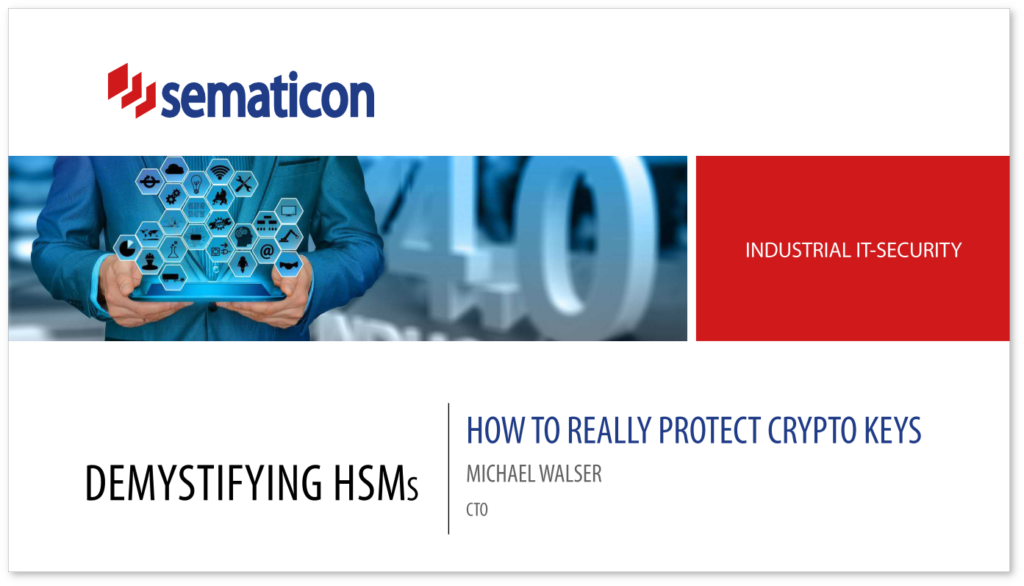 Demystifying HSMs