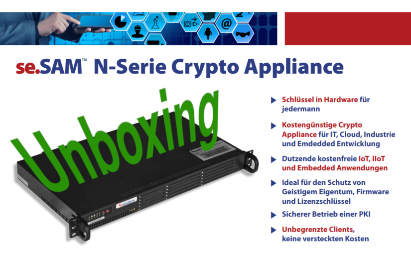 Unboxing: Sematicon se.SAM N200 Crypto-Appliance
